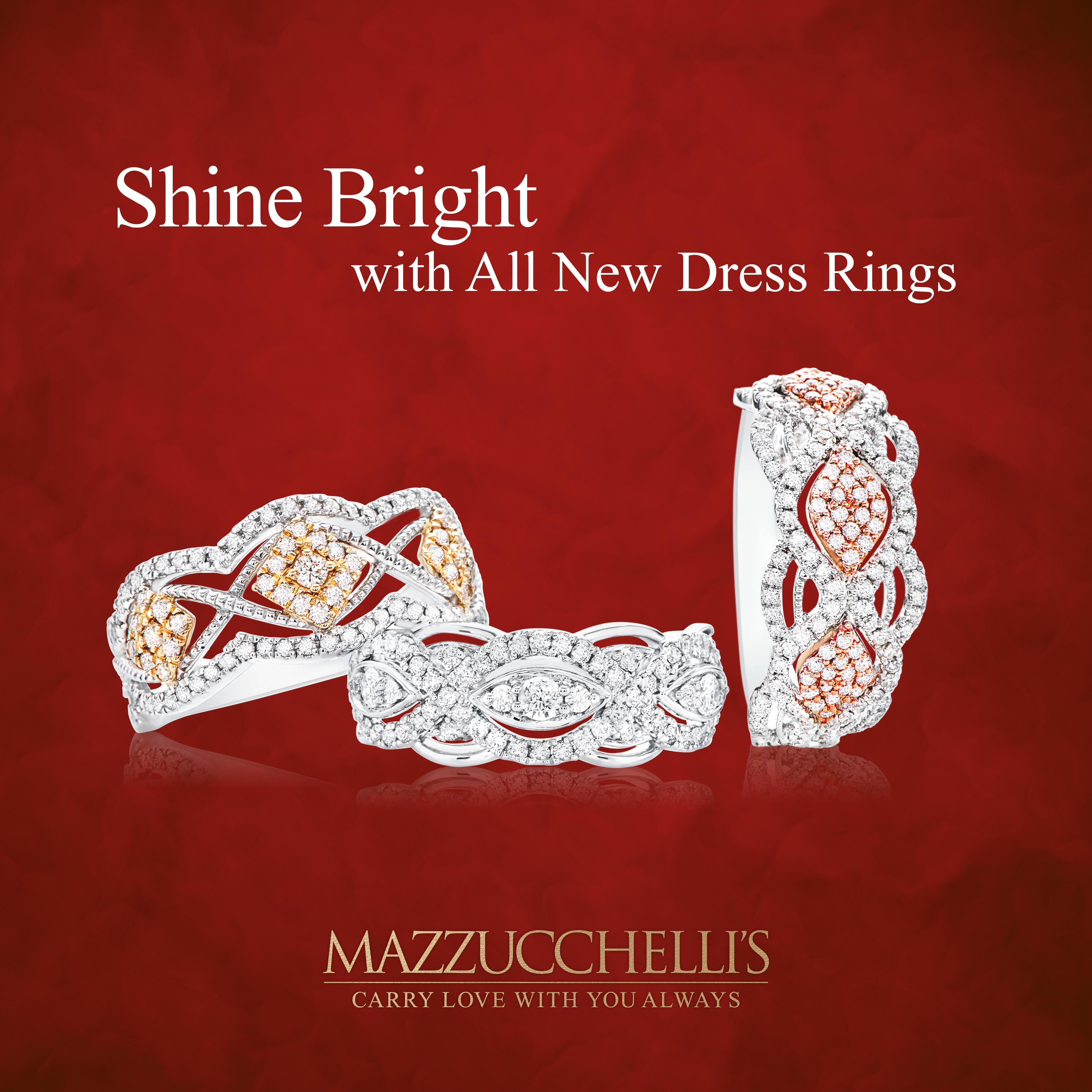 Some of our gorgeous new Dress Rings just in time for Christmas