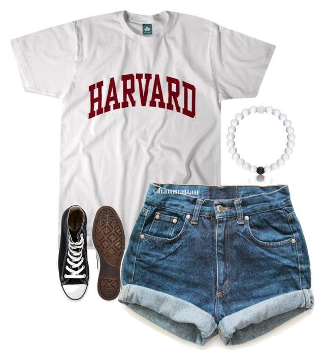 """""""Honestly tho"""" by cait926 ❤ liked on Polyvore featuring Levi's and Converse"""