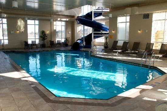 Home indoor pool with slide  massanutten indoor waterpark mcgaheysville va. dolphin water slide ...