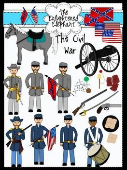 Civil War Clip Art | Civil war art, War drums, American ...