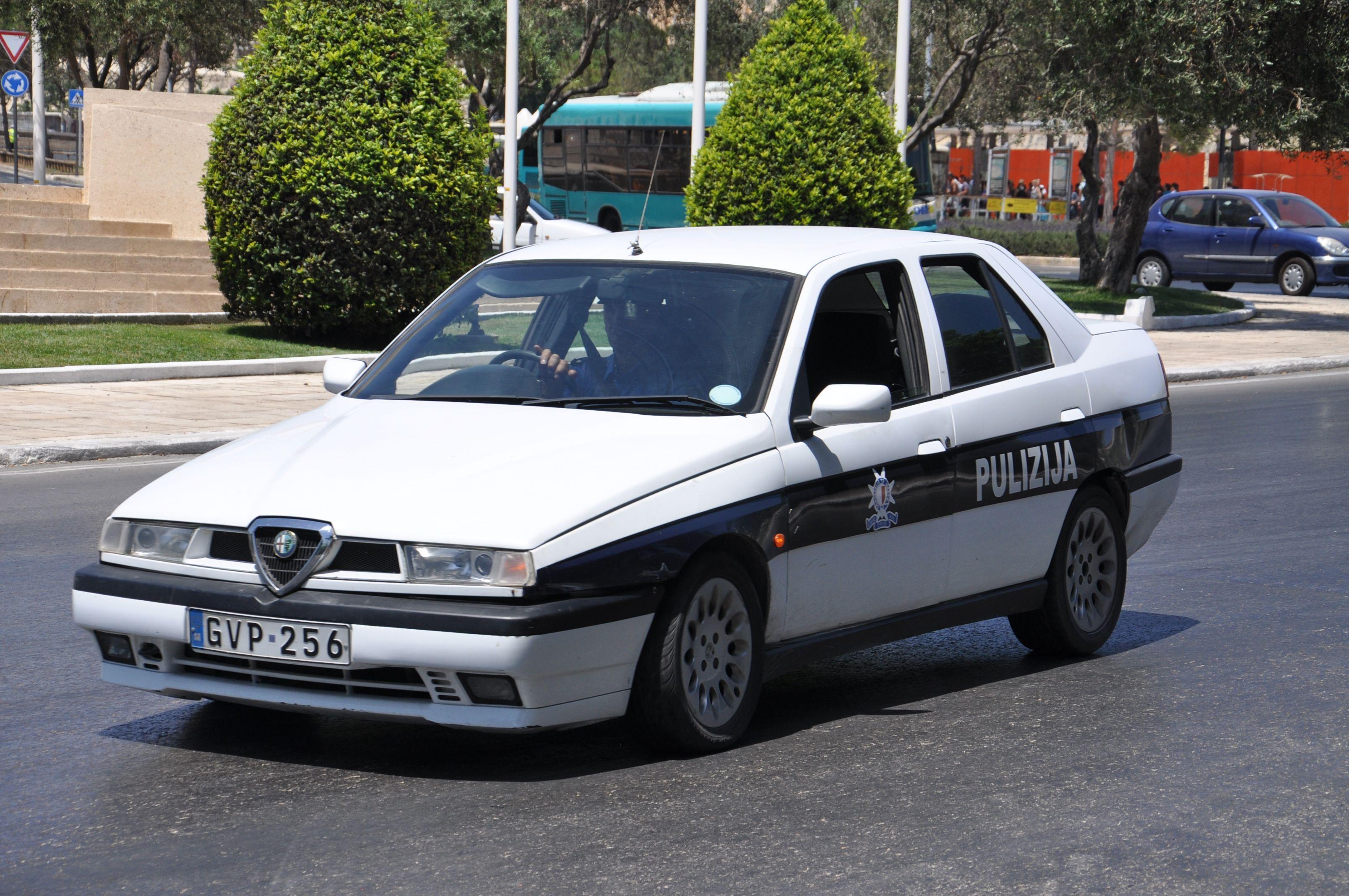 Alfa 155 Malta Pulizija C P O L I C E Pinterest