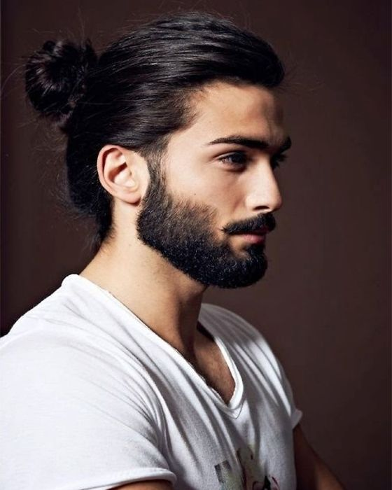 Adorable Long Hairstyles Of Men 2016 Long Hair Styles Men Mens Ponytail Hairstyles Man Ponytail