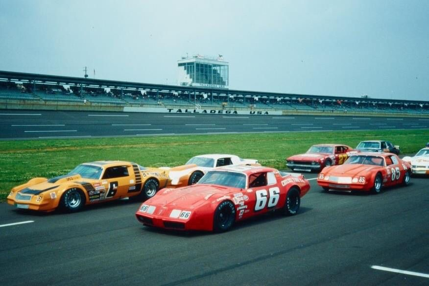 Super Speedway Modified Late Model Racing Old Race Cars Stock Car Racing