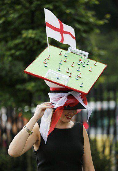 Few 'crazy' hats at Royal Ascot...