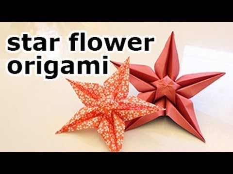 Origami star flower video tutorial origami stars star flower and origami star flower video tutorial paper kawaii mightylinksfo