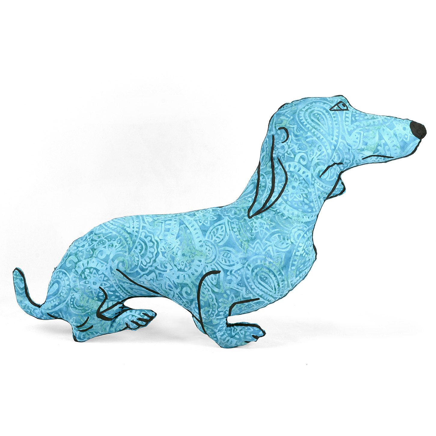 decorative pillow, dog pillow, animal pillow, dachshund dog shaped big pillow chair sized doxie shaped pillow by pattihaskins on Etsy