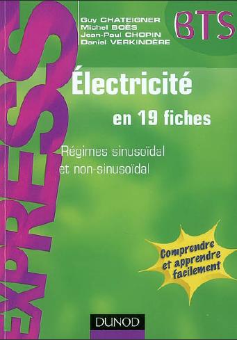 Electricite En 19 Fiches Regimes Sinusoidal Et Non Sinusoidal Workbook Data Science Elearning
