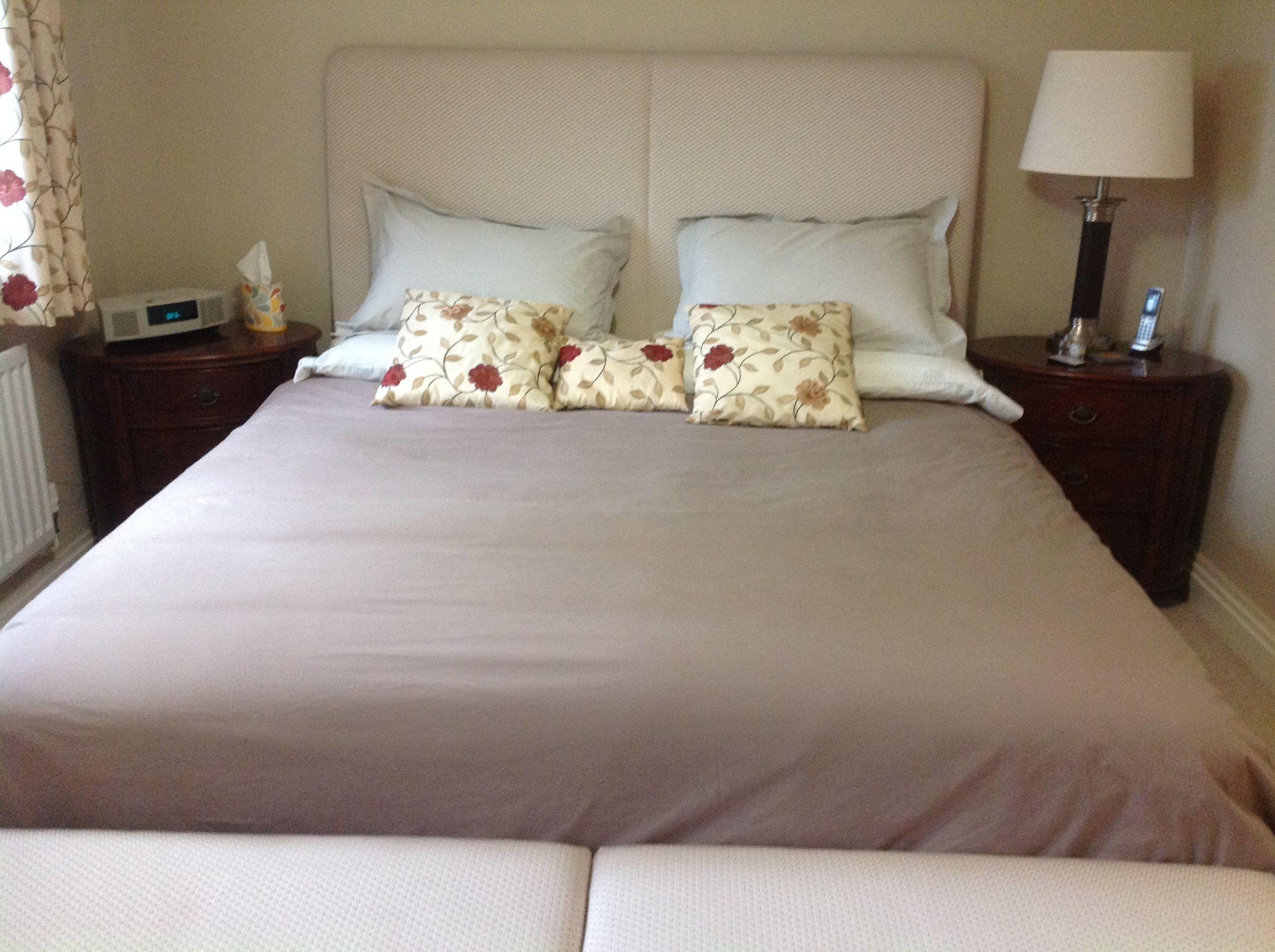 Bed width 183 cm Headboard 183 cm