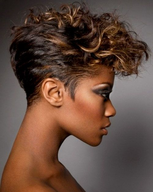 Superb 1000 Images About Hair On Pinterest Curly Mohawk Hairstyles Short Hairstyles Gunalazisus