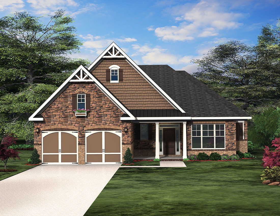 The Douglas Floor Plan Paran Homes House Styles Douglas Floor