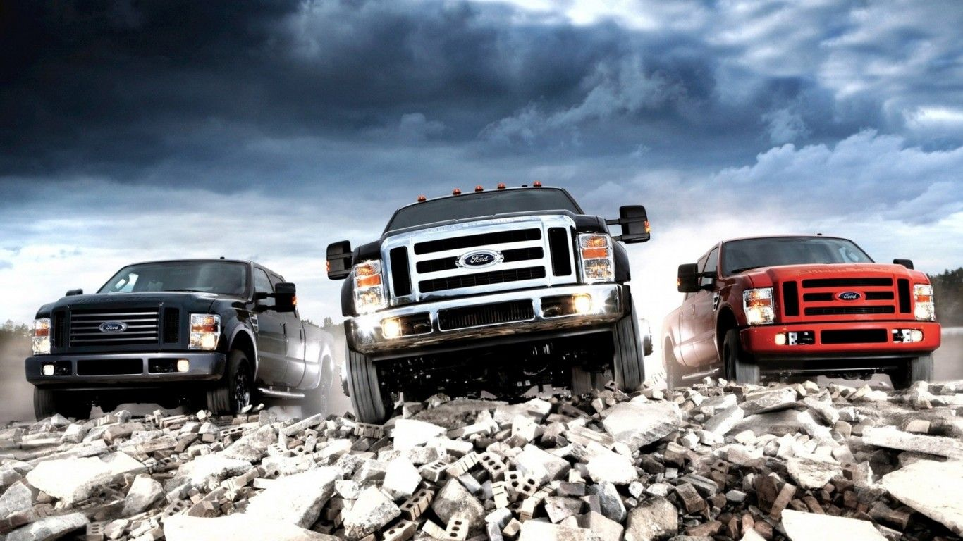 """Built Ford Tough"" Pinned by Bozard Ford Truck Dealership"