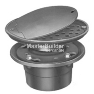 Zurn Z315 Vandal Proof Access Drain W Hinged Solid Locking Cover Hinges Drain Hinge Covers