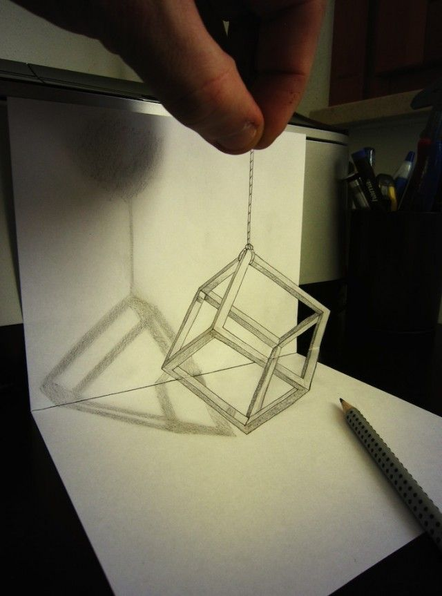 Crazy 3d Drawing Art Weird Vigorelle Illusion Drawings 3d