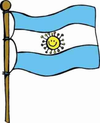 Pin De Sonia Diaz En Fiestas Patrias Bandera Argentina