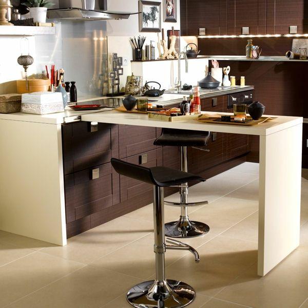 Un plan de travail coulissant donnera plus du0027espace dans votre - Table De Cuisine Avec Plan De Travail