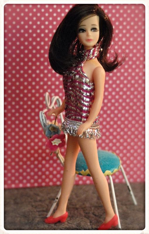 JessicaPussycat Dolls                                 Lindsey                                           I had a Chrissy doll  I loved her    she came in a long