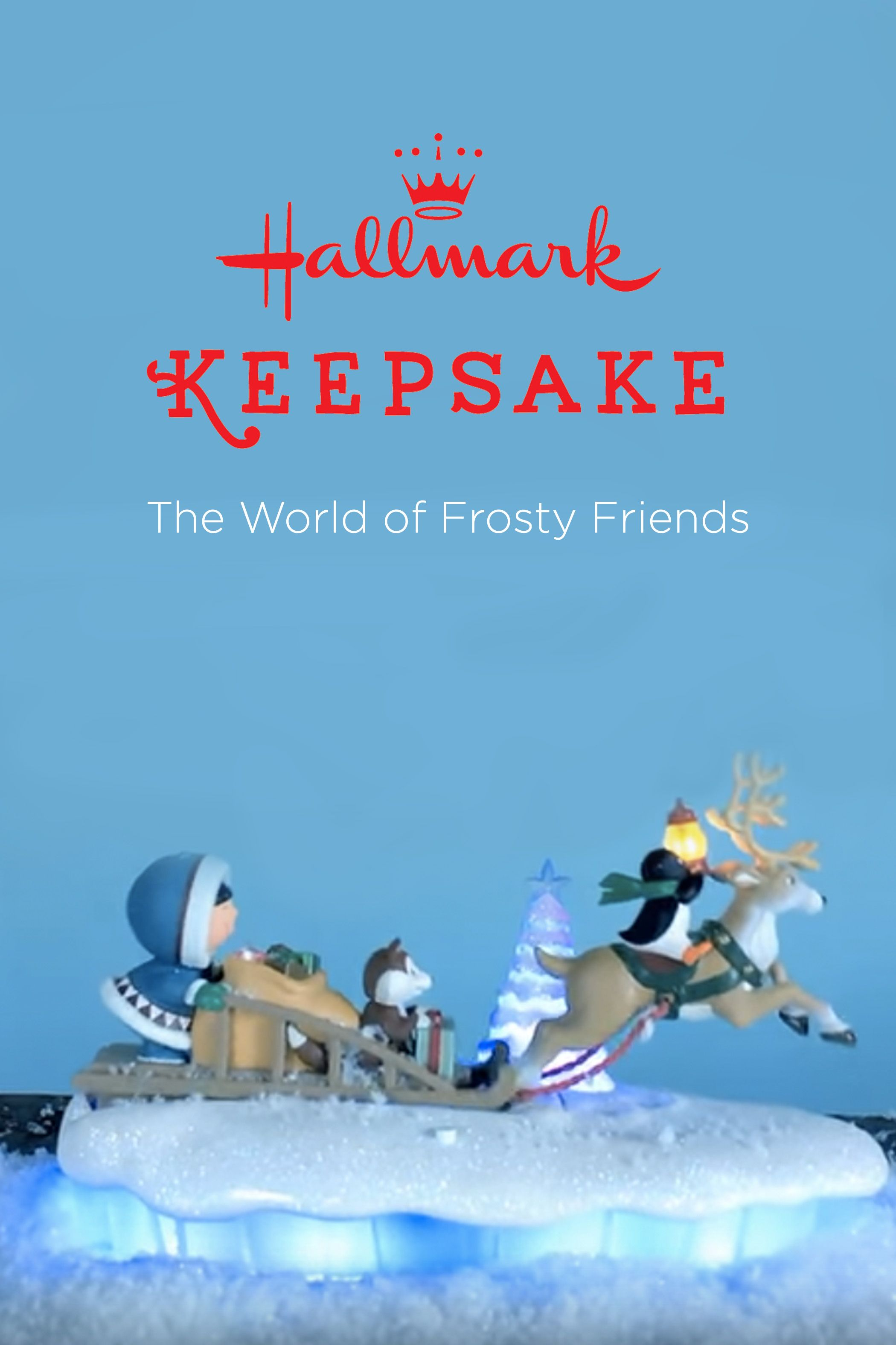 add an adorable piece to your winter wonderland mantelscape or christmas home decor with this world of frosty friends hallmark keepsake ornament and imagine - Hallmark Christmas Home Decor