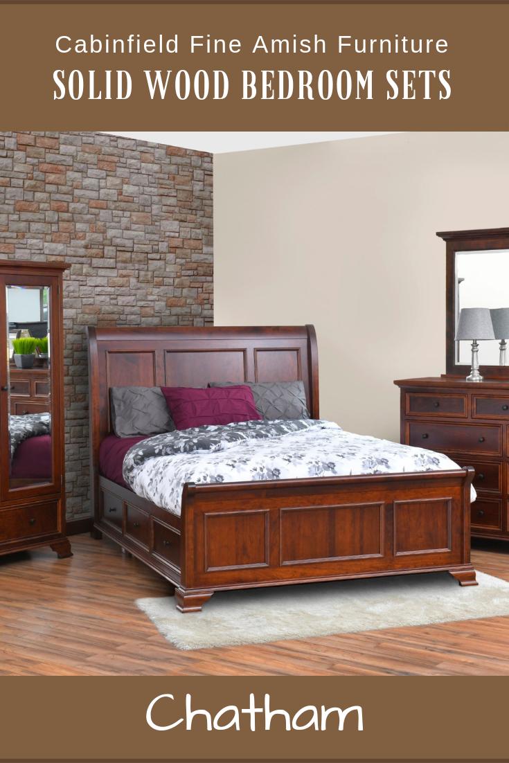 Chatham Amish Bedroom Set Wood Bedroom Sets Furniture Purple