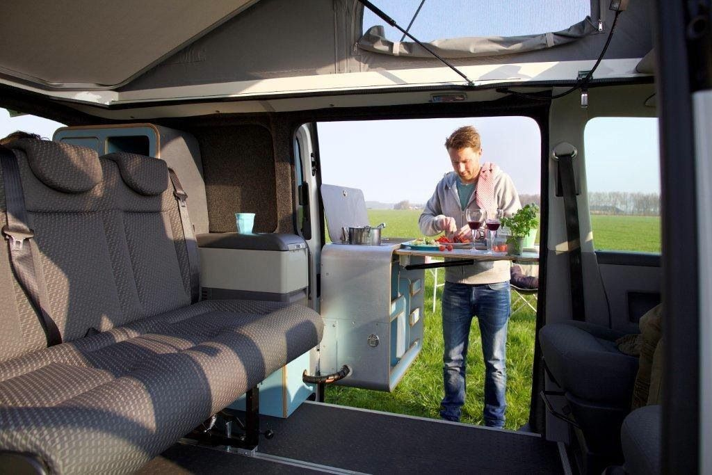 Tonke Turns The New VW T6 Into Versatile Camper Van