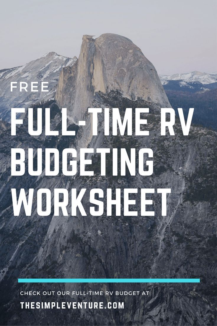 The Ultimate Guide How Much Does It Cost To Full Time Rv Full Time Rv Rv Living Full Time Rv Budget