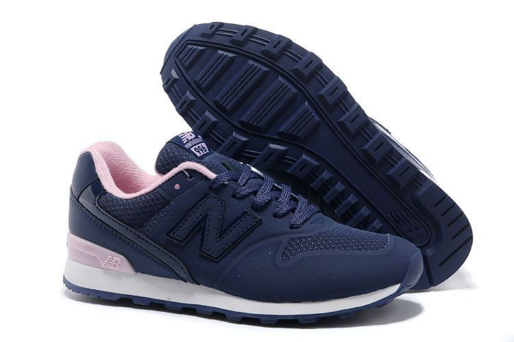 new balance rose blauw