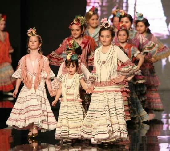 Maria Castaña 2016 Traje Flamenca Niña Vestido Flamenco Niña Y Moda Flamenca