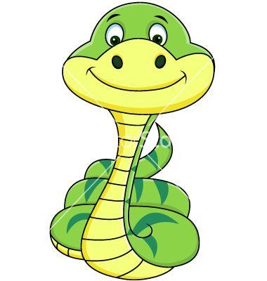 Funny Snake Cartoon Vector 895271 By Dagadu On Vectorstock Snake Drawing Snake Illustration Cartoons Vector