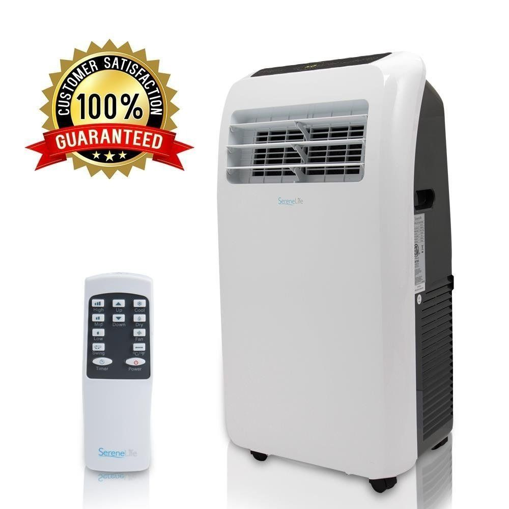 Serenelife Portable Air Conditioner Compact Home A C Cooling
