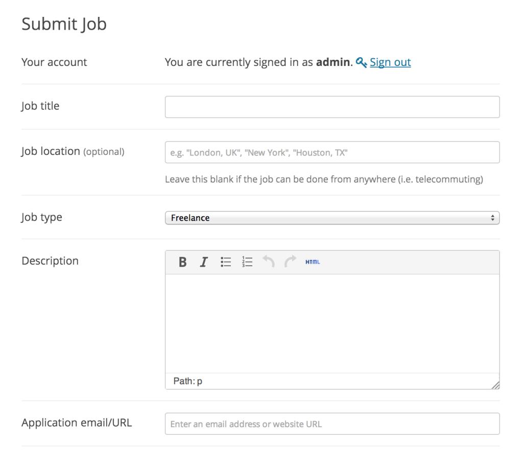 Wp Job Manager A Free Extensible Job Board Plugin For Wordpress