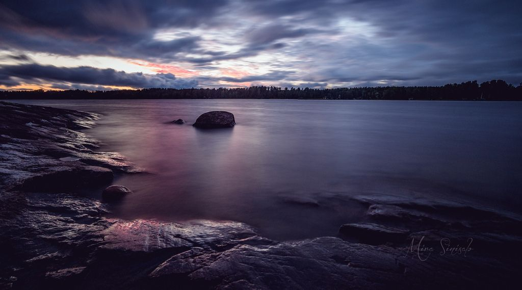 After rain and sunset by murmis