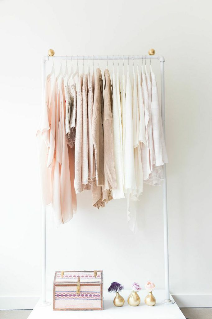 The prettiest array of colors home decor pinterest - Burros para ropa ...