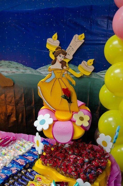 Idea de mesa de dulces cumpleaños