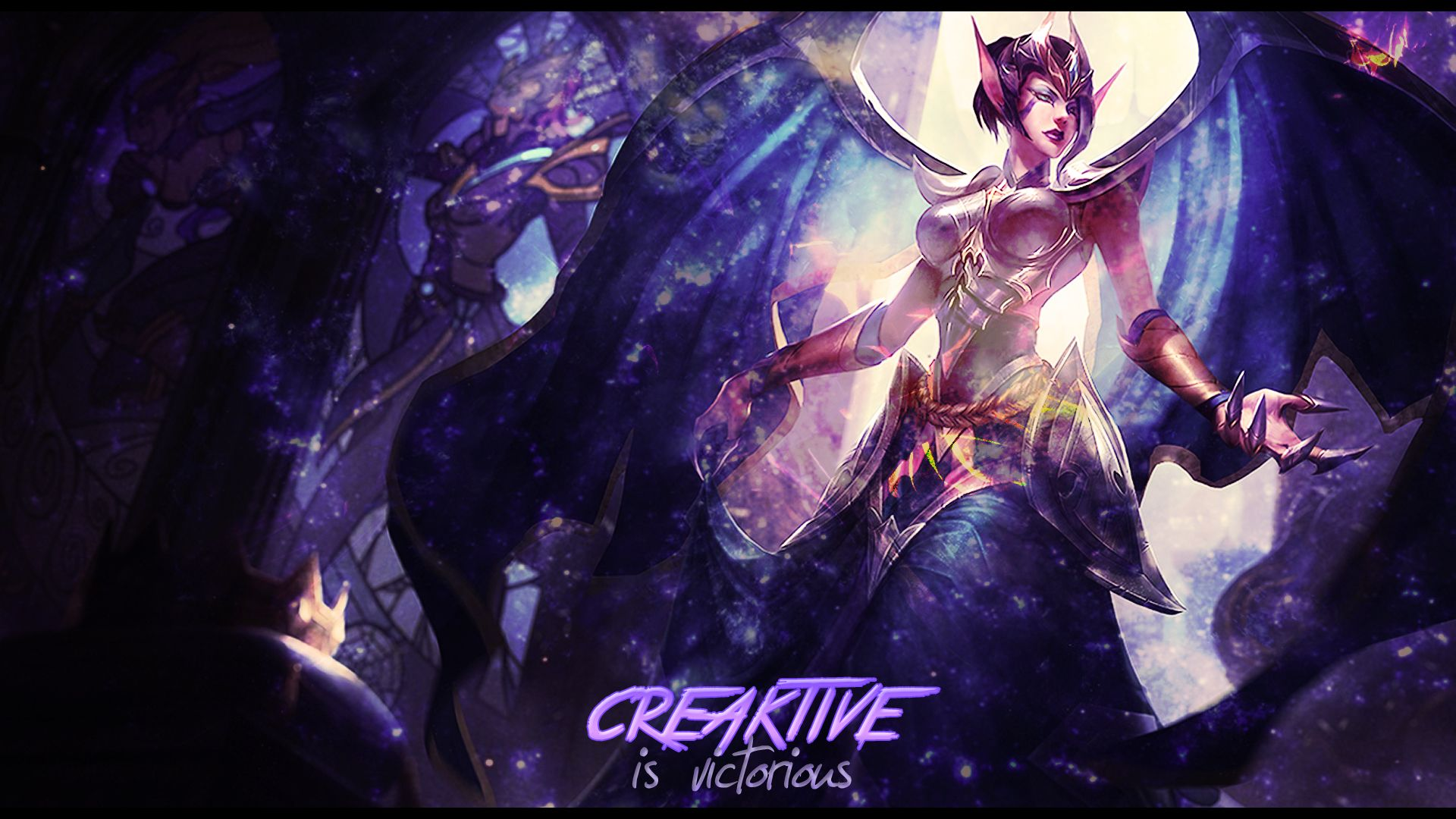 Morgana Victorious Victorious Morgana Splash Art Edited By Creaktivedesigns Art Girl Art League Of Legends