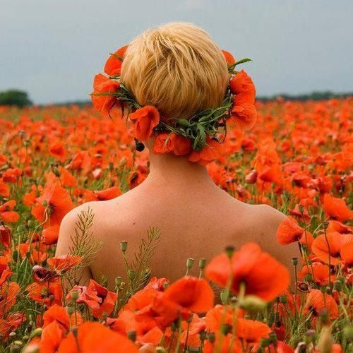 Congratulate, magnificent Naked women in flowers interesting question