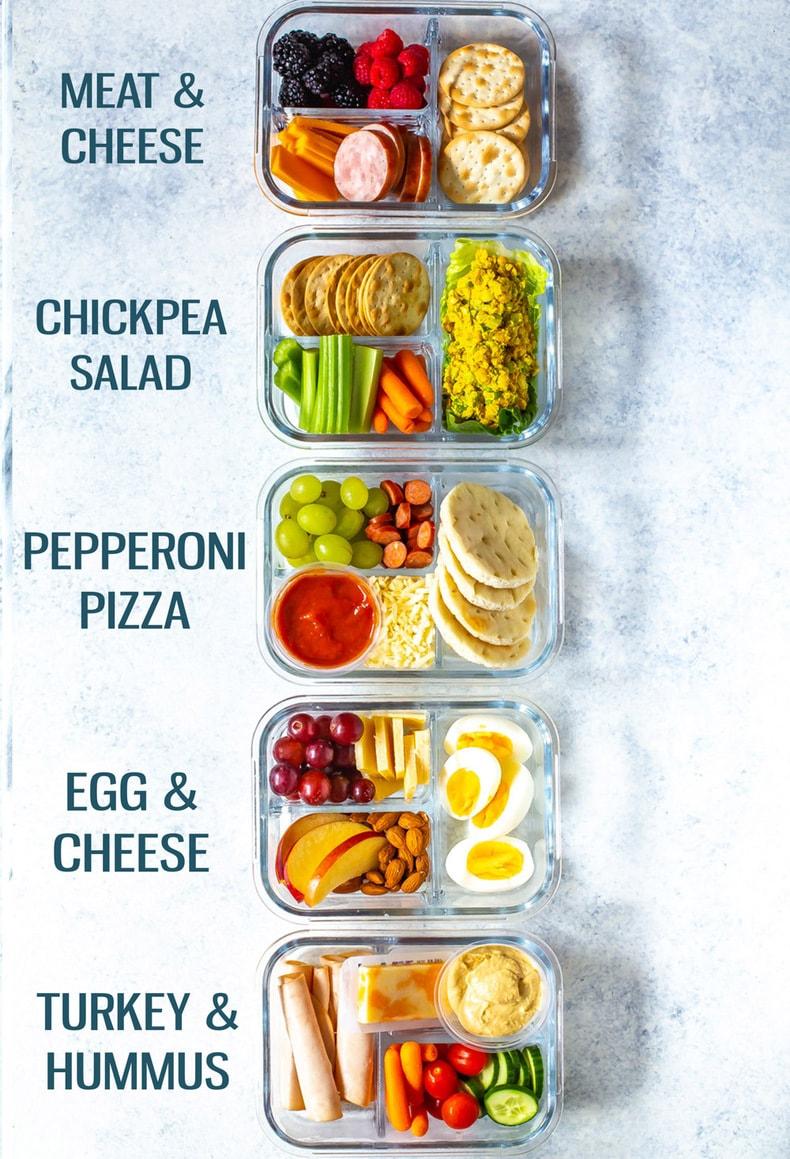 Healthy Bento Lunch Box Recipes - 5 Ways - The Gir