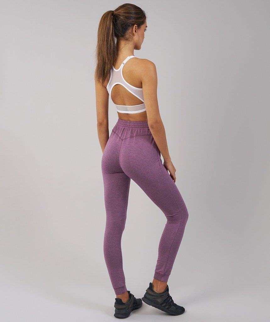 226f287173972 Gymshark Solace Bottoms - Purple Wash Marl 2 | clothing items i want ...