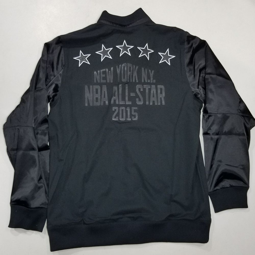 088dc4d6519 Adidas NBA All Star Warm Up Jacket NYC 2015 Large black  adidas ...