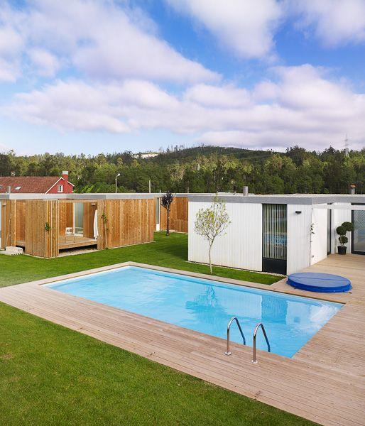 Vivienda addomo hormigon arquitectura piscinas dise o - Vivienda modular hormigon ...