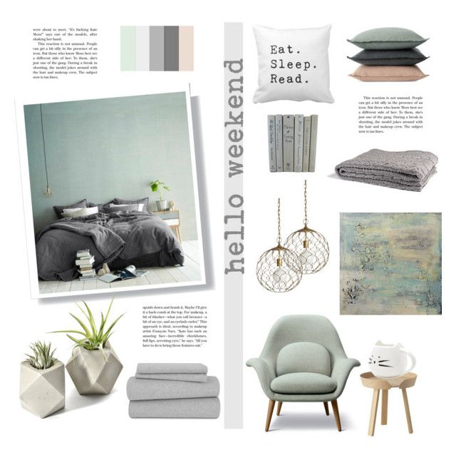 """""""hello weekend"""" by levai-magdolna ❤ liked on Polyvore featuring interior, interiors, interior design, home, home decor, interior decorating, Design Within Reach, Crate and Barrel, Muuto and in2green"""