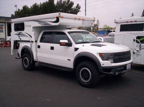 Tc650 On F150 Raptor 5 7 Truck Camper Pop Up Truck Campers