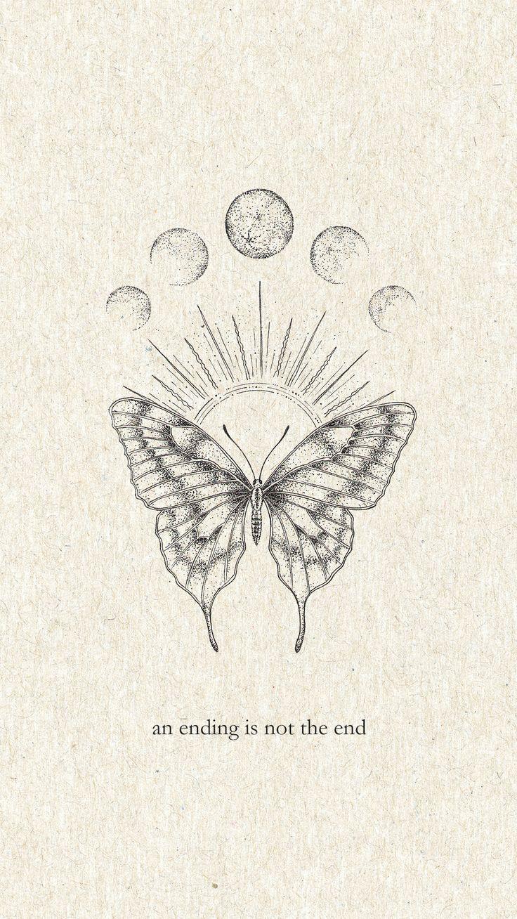 Printable Wall Art Fish and the Moon / Black and W