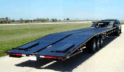 102 X 51 Load Deck With Outside Rub Rails 3 7000 Lb Axles With