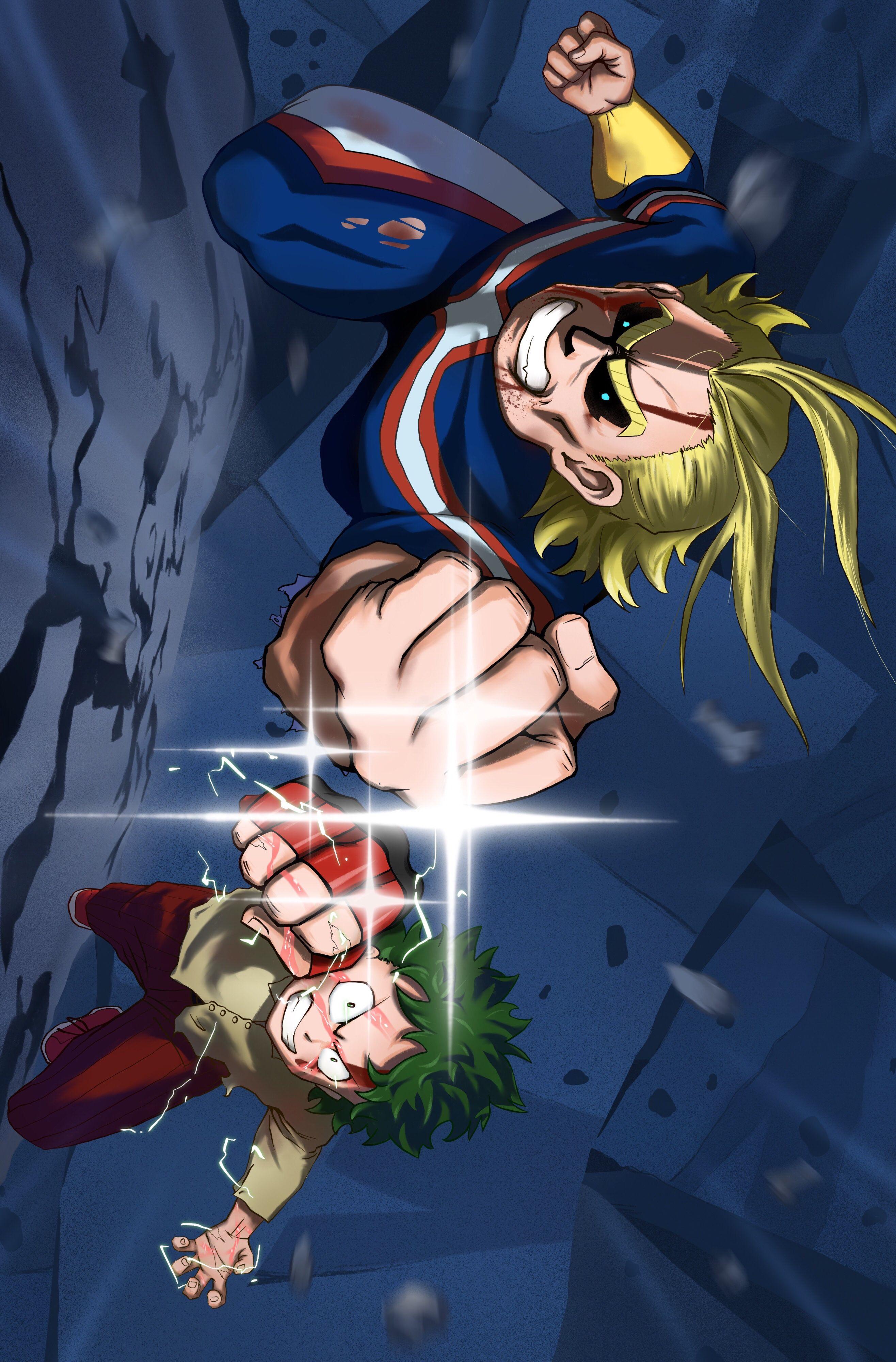 Poweeeer Hero Wallpaper My Hero Anime