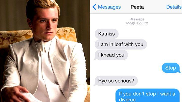 The Hunger Games Katniss And Peeta Bread Flashback Hd Youtube