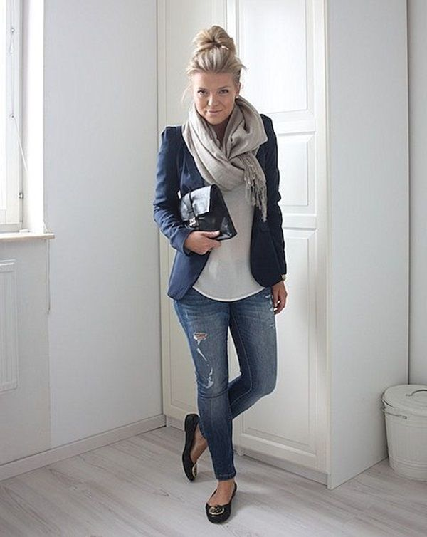 Casual chic | street style | Outfit, Arbeits outfits und