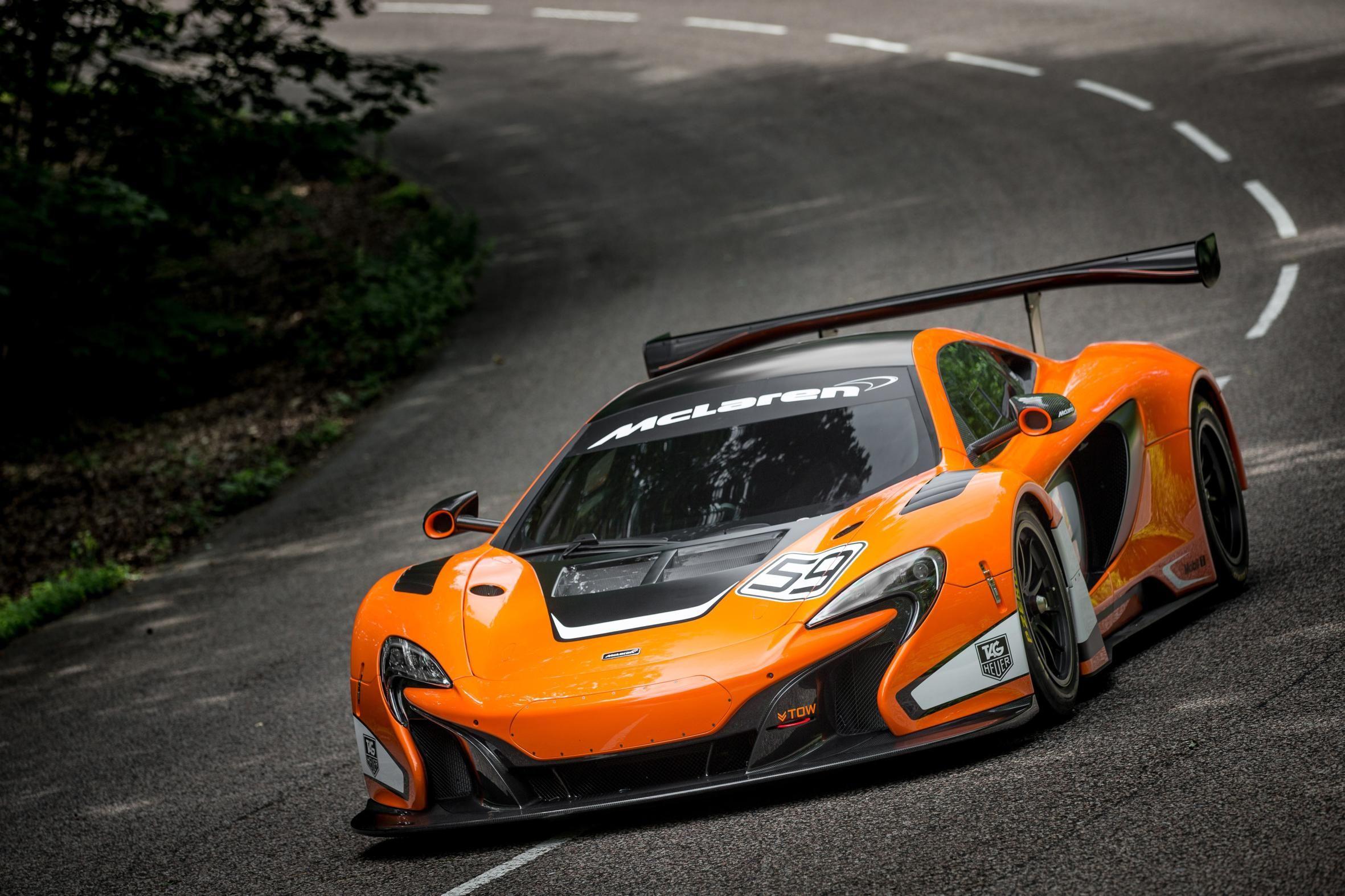 The 650S GT3 Is McLaren\'s Sinister Lightweight Hardcore Racer ...