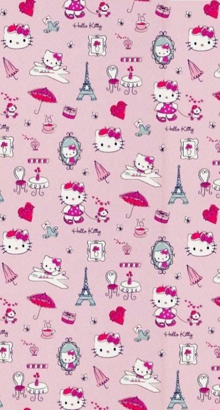 68 Super Ideas Wall Paper Vintage Iphone Hello Kitty