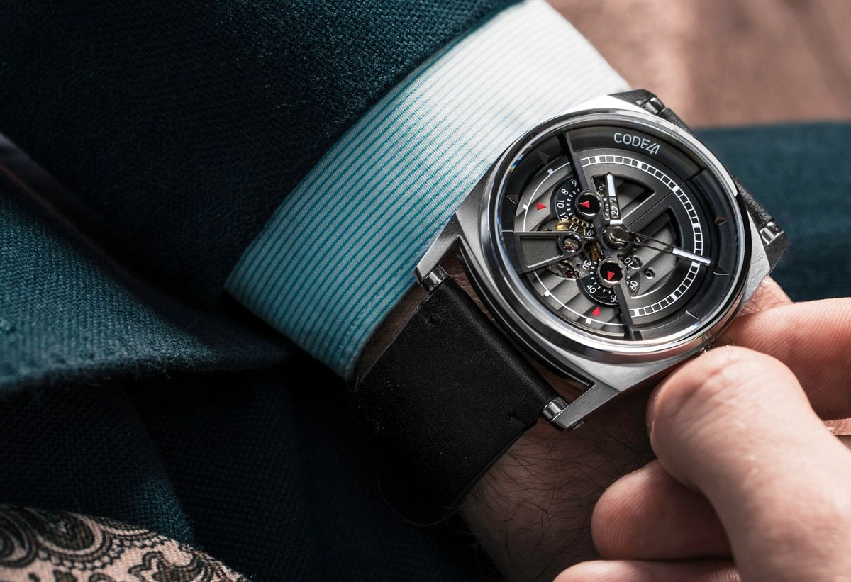 Discover CODE41 Latest Collections at a Glance Montre