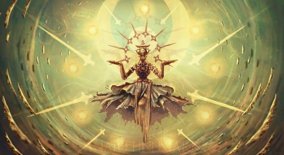 Anato finnstark Illustrations — Zenyatta ultimate (overwatch) PRINT ... zenyatta