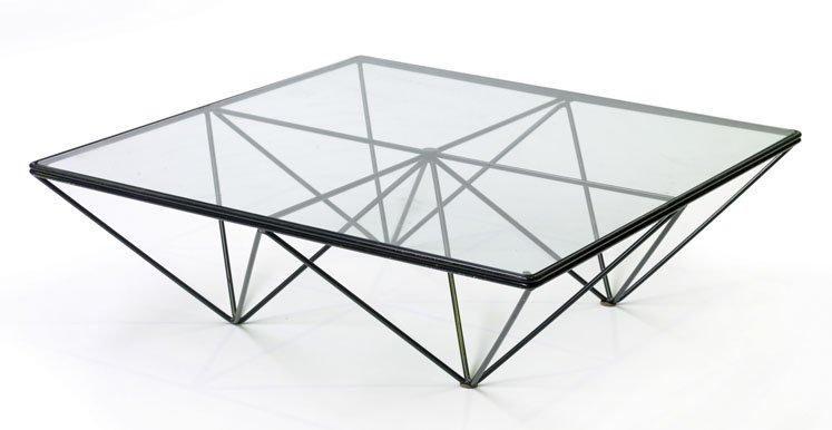 Paolo Piva Table Basse Carr E Alanda Structure En M Tal Coffee Table Table Decor